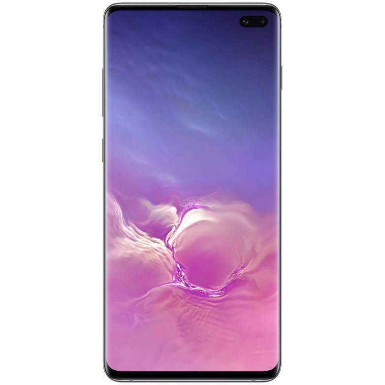 Fotografie Telefon mobil Samsung Galaxy S10+, Dual SIM, 128GB, 8GB RAM, 4G, Ceramic Prism Black