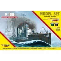 Mirage Német Torpedóhajó makett V106