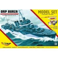 Mirage hajó makett Lengyel Romboló Orp Burza