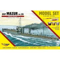 Mirage hajó makett Orp Mazur