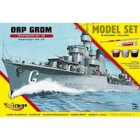 Mirage hajó makett Lengyel Romboló Orp Grom