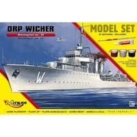 Mirage hajó makett Lengyel Romboló Orp Wicher