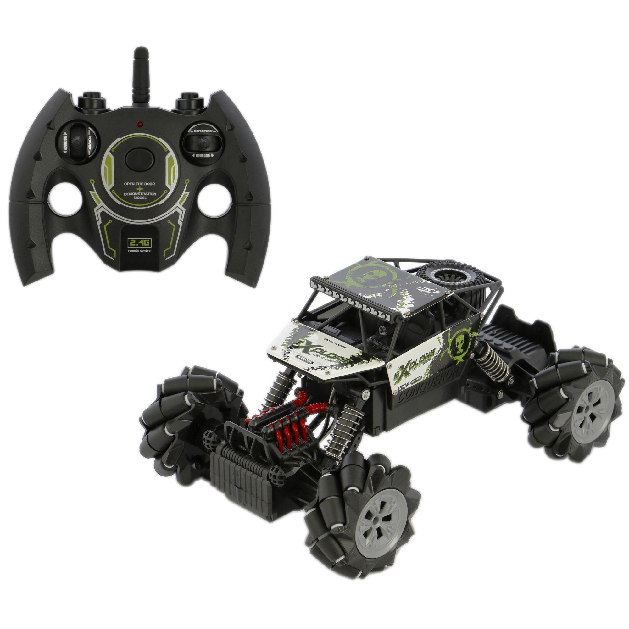 Fotografie Masinuta M-Toys Off-Road 4x4, cu telecomanda, scara 1:16, negru