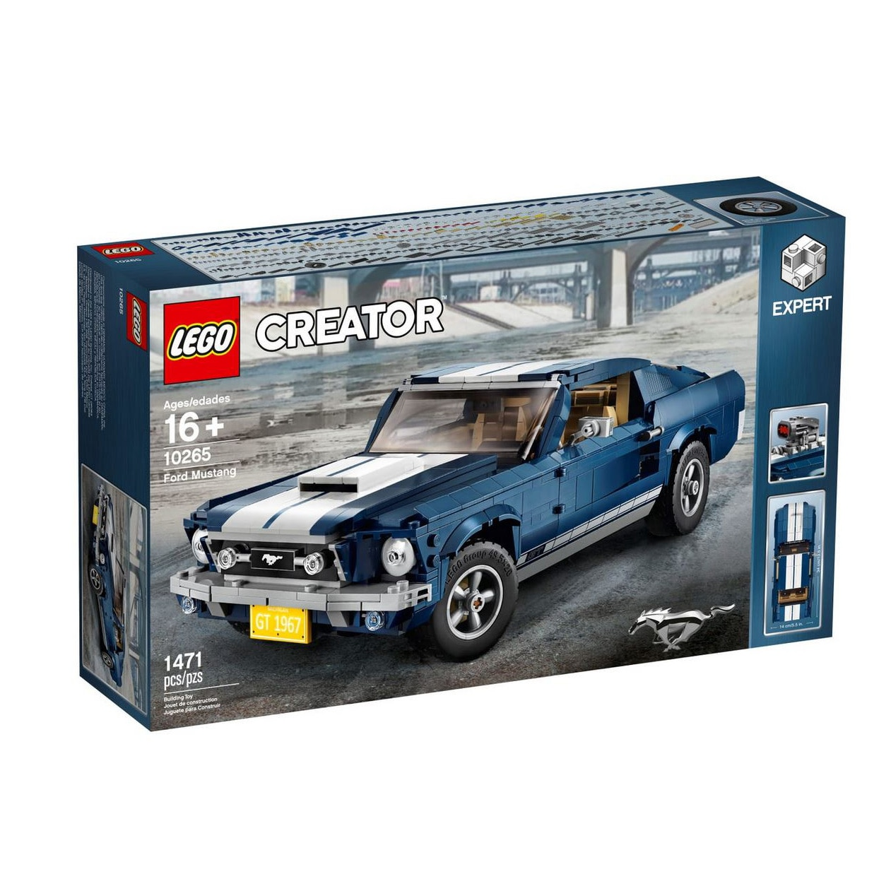 Fotografie LEGO Creator Expert - Ford Mustang 10265, 1471 piese