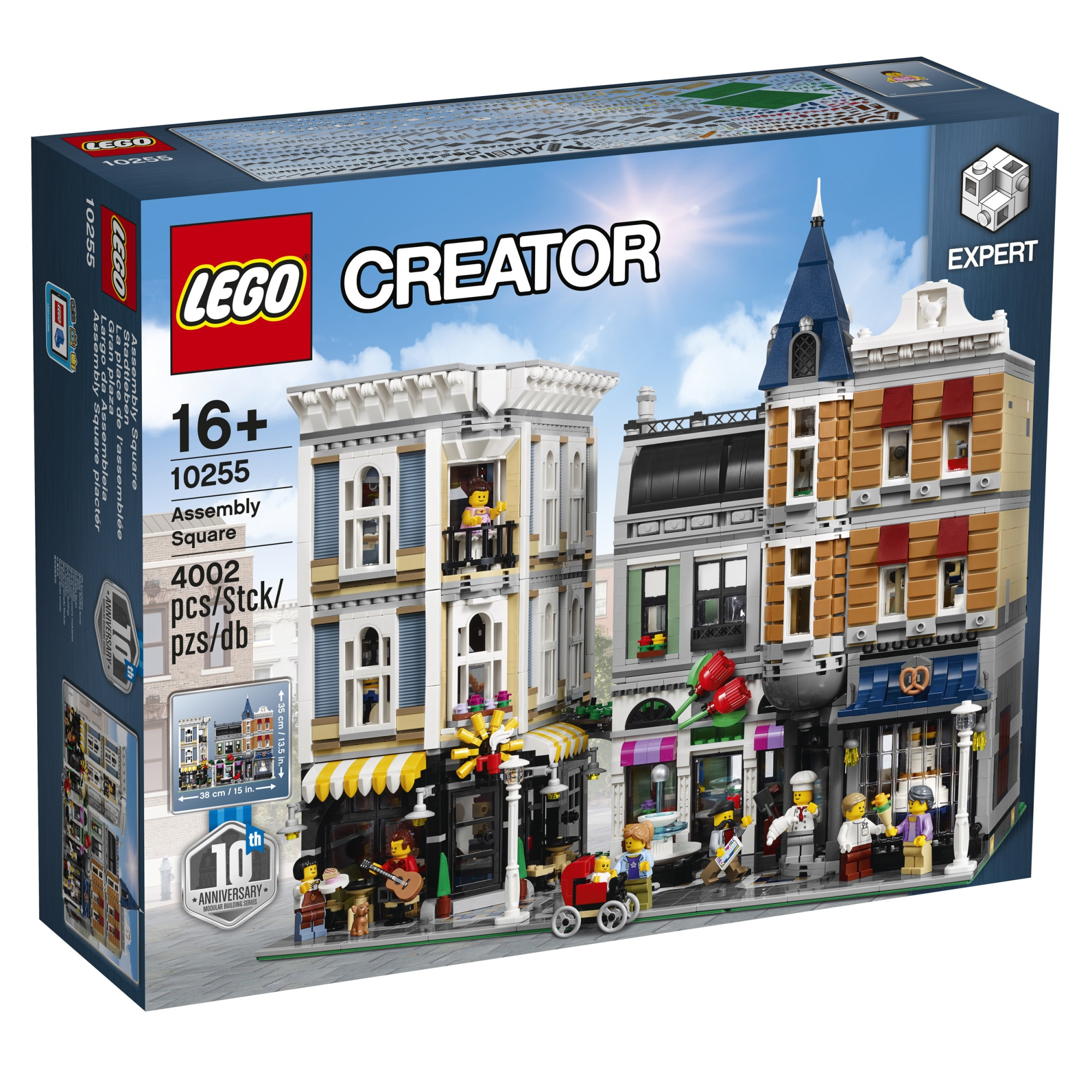 Fotografie LEGO Creator Expert - Assembly Square 10255, 4002 piese