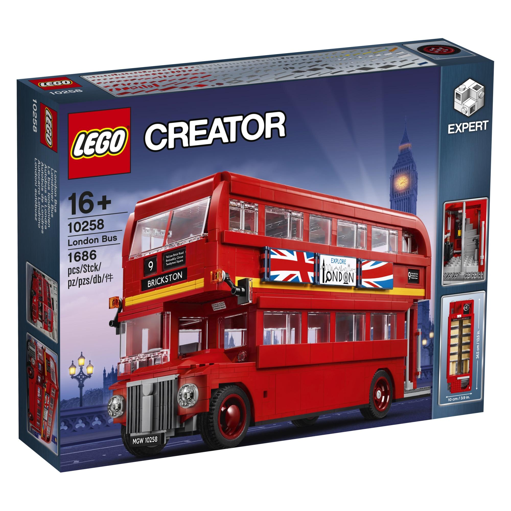 Fotografie LEGO Creator Expert - London Bus 10258