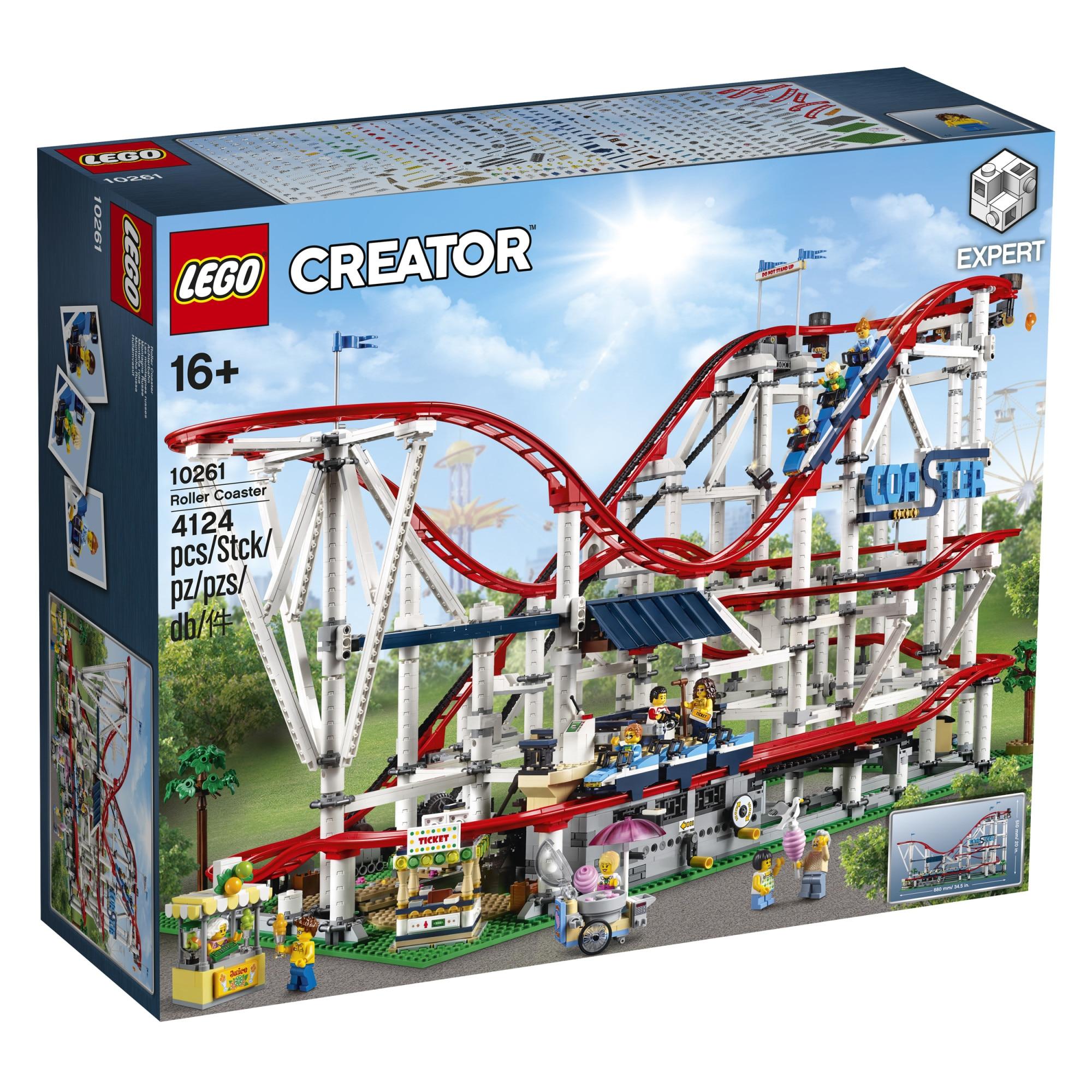 Fotografie LEGO Creator Expert - Roller Coaster 10261, 4124 piese
