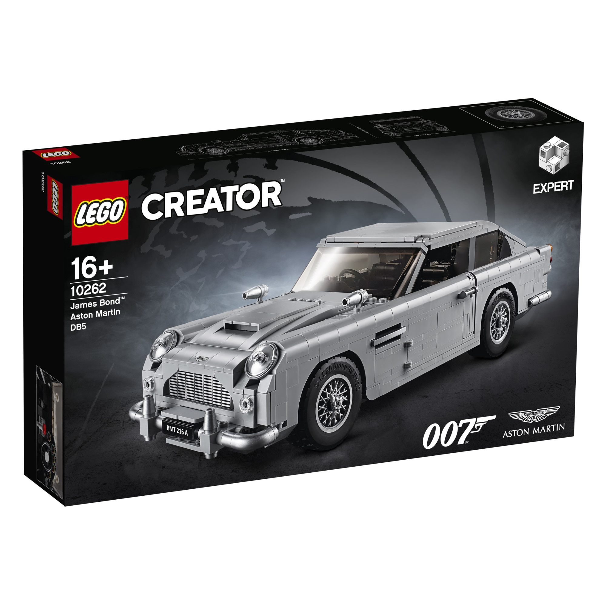 Fotografie LEGO Creator Expert - James Bond Aston Martin DB5 10262