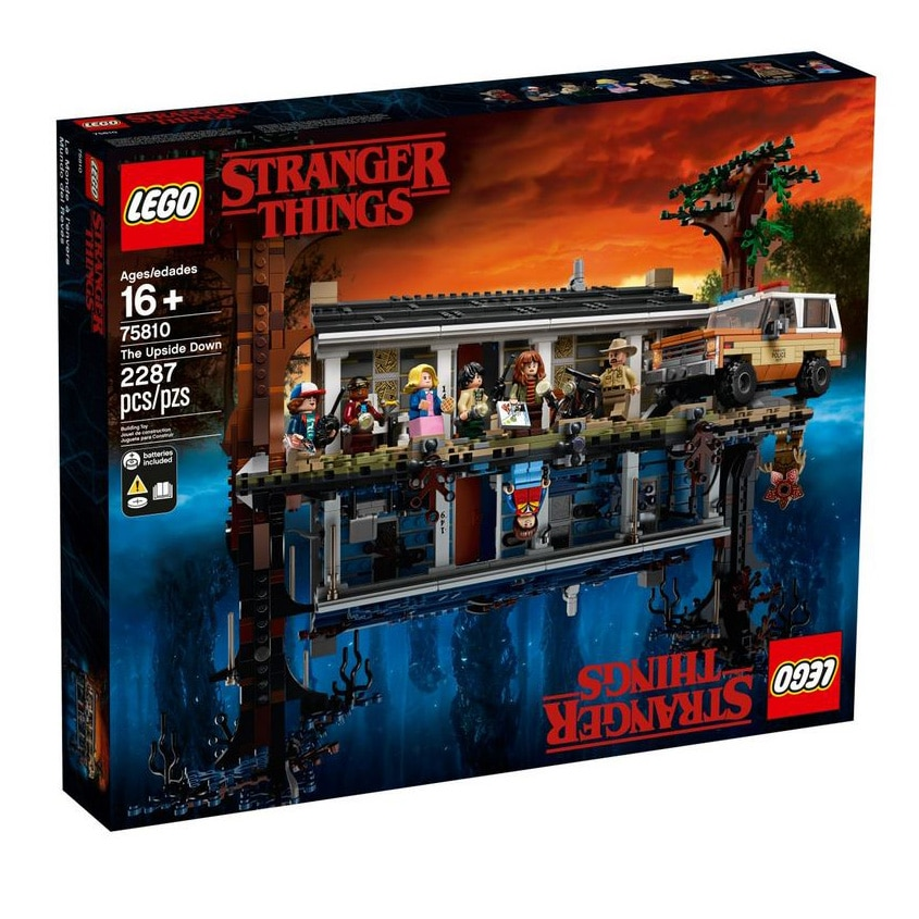 Fotografie LEGO Stranger Things - The Upside Down 75810, 2287 piese