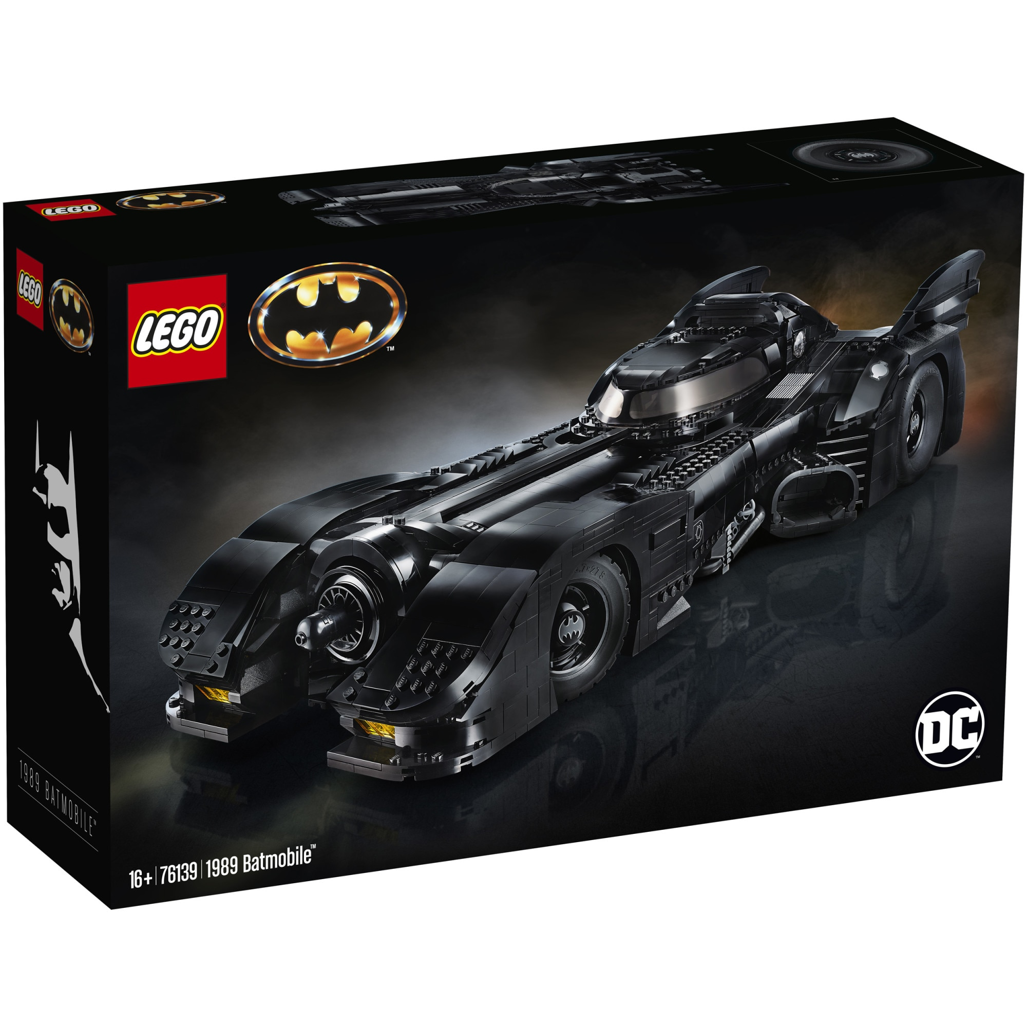 Fotografie LEGO Super Heroes - 1989 Batmobile 76139