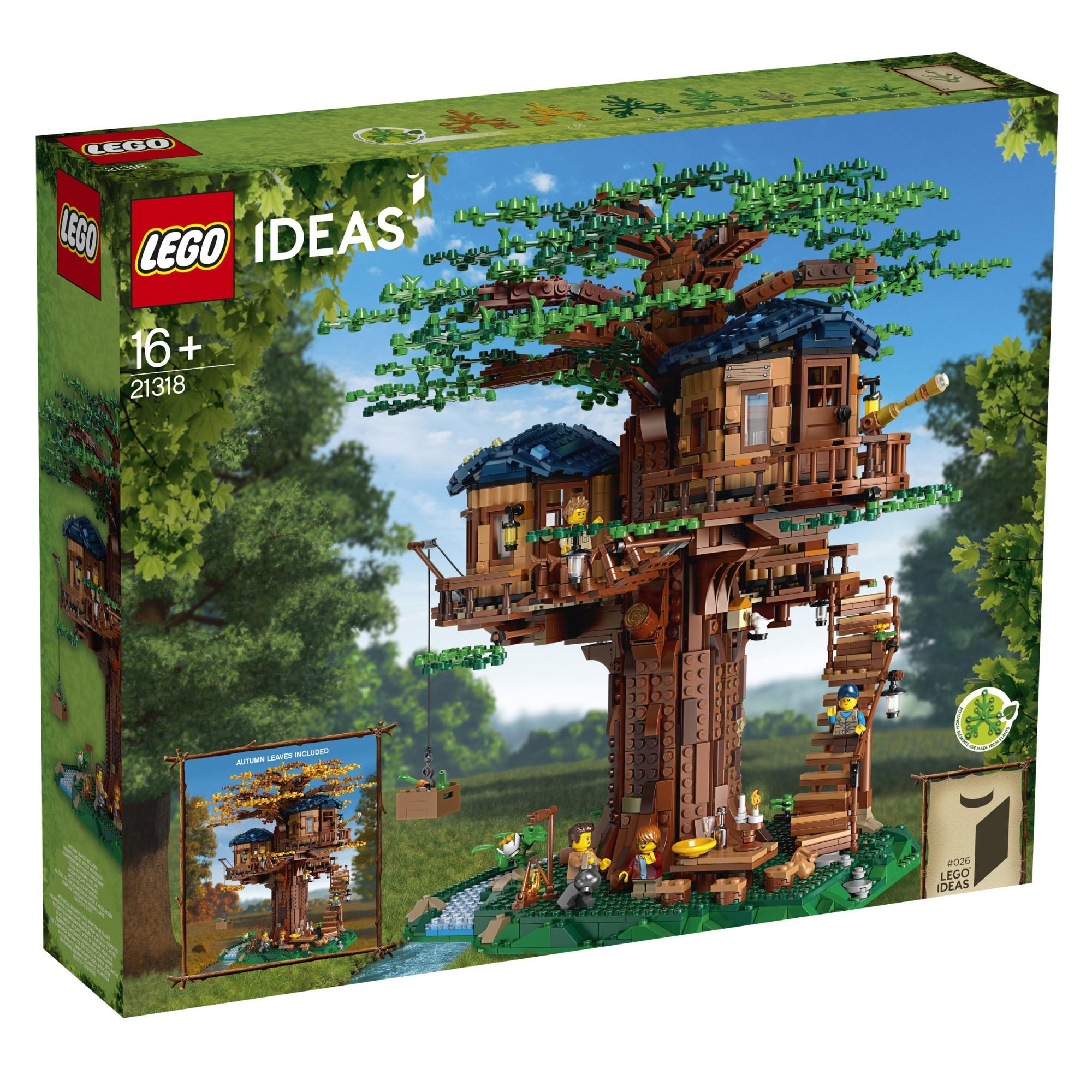Fotografie LEGO Ideas - Tree House 21318, 3036 piese
