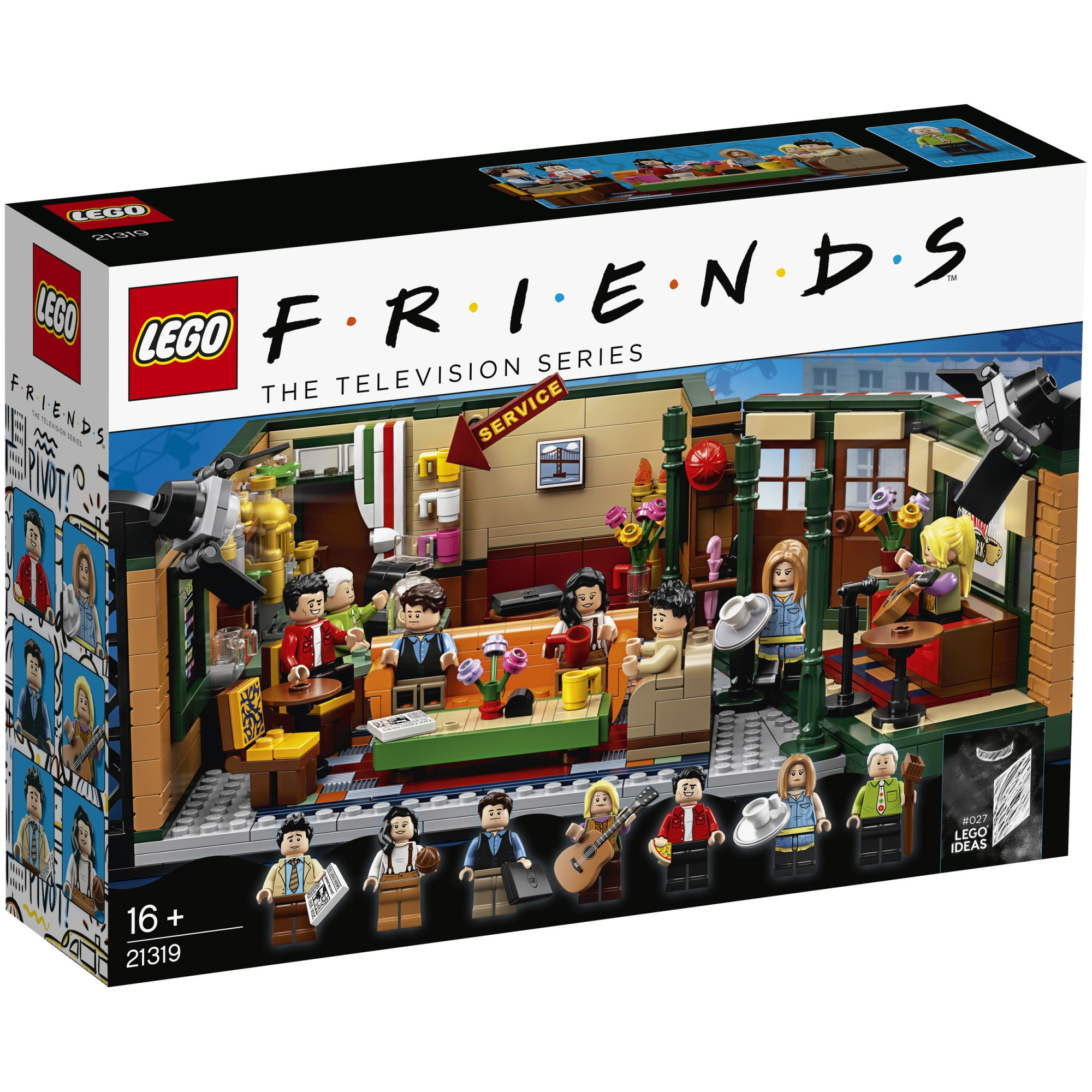Fotografie LEGO Ideas - Central Perk 21319, 1070 piese