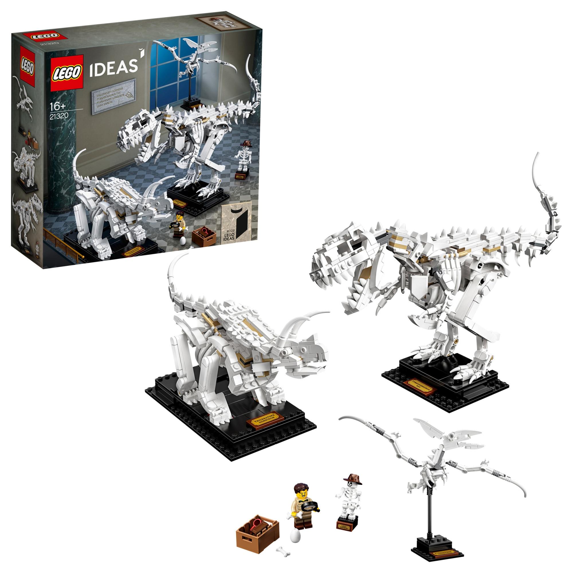 LEGO Ideas 21320 Dinoszaurusz maradványok lFrJp6