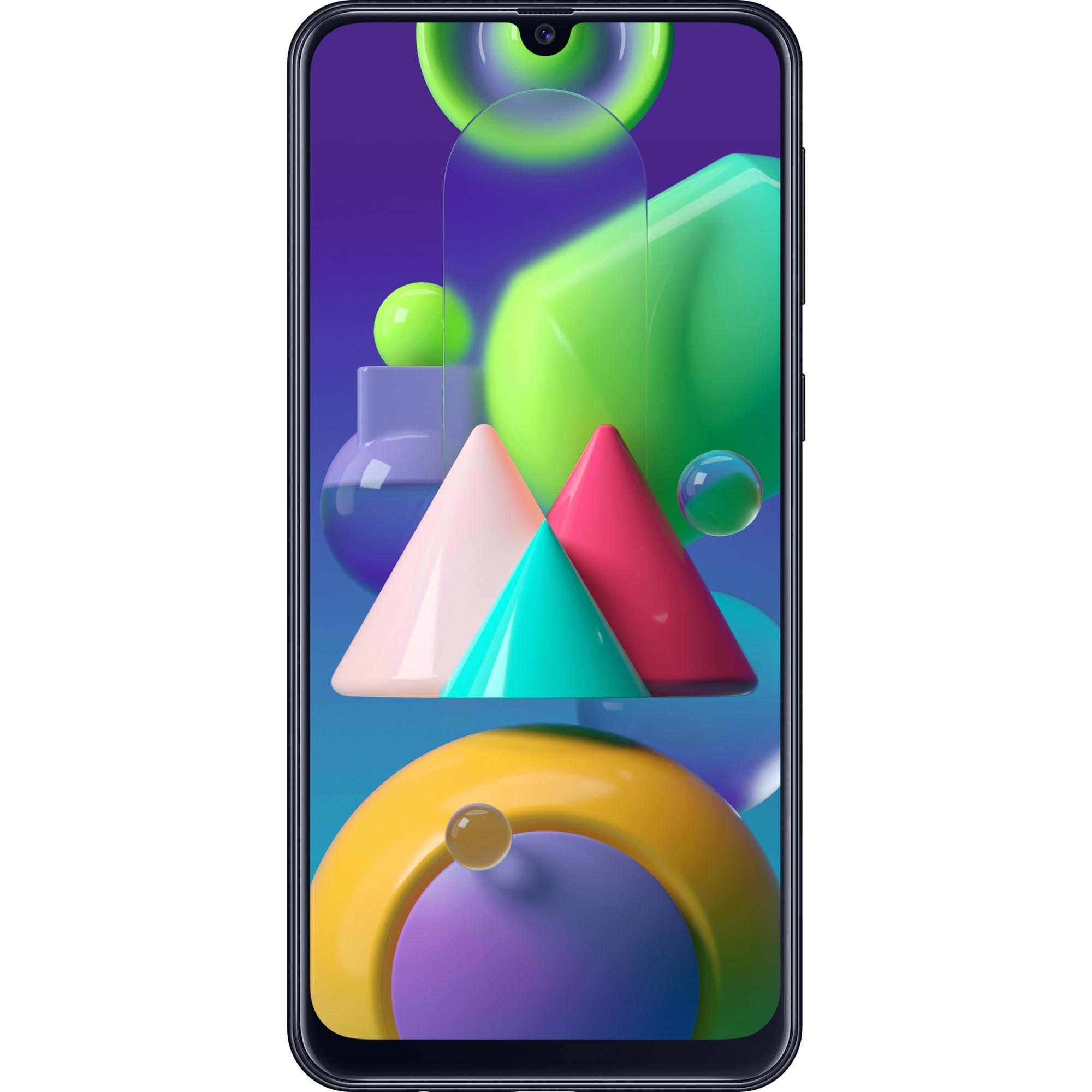 Fotografie Telefon mobil Samsung Galaxy M21, Dual SIM, 64GB, 4G, Black