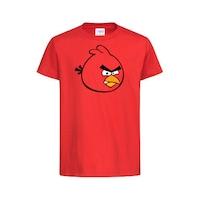 """Детска тениска """"Angry Birds"""" червена (4-6 години) Vitrinata"""