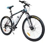 MalTrack Team MTB 18 sebességes kerékpár, 26 hüvelykes kerekek, Mountain Bike, fekete / kék szín