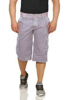Essentials vászon bermuda nadrág, light grey, 29