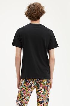 Levi's, Levi's® x Super Mario kerek nyakú póló, fekete/kék/fehér