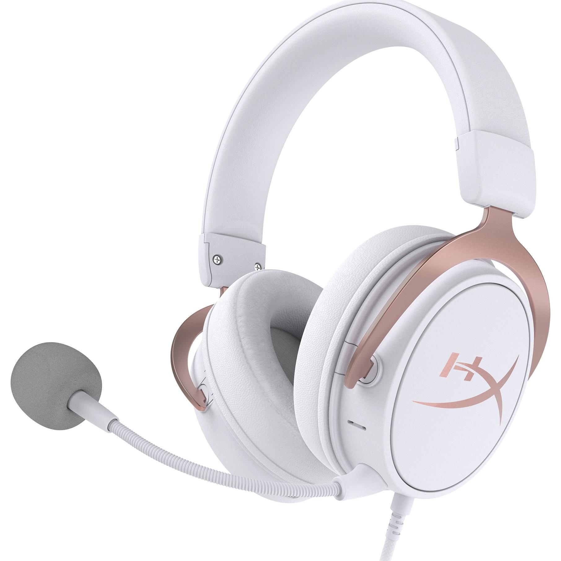Fotografie Casti gaming wireless HyperX Cloud Mix, Hi-Res, Bluetooth, Rose Gold