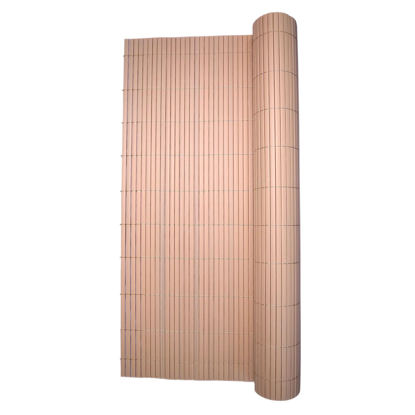 Paravan Pentru Balcon Terasa Gard Pvc 1x3m Tip Bambus 1300g M2 Uv Emag Ro