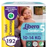 Libero Comfort 5 pelenka, havi csomag, 10-14 kg, 192 db