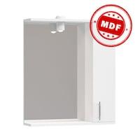 Jago fürdőszobai tükrös szekrény 55 cm fehér