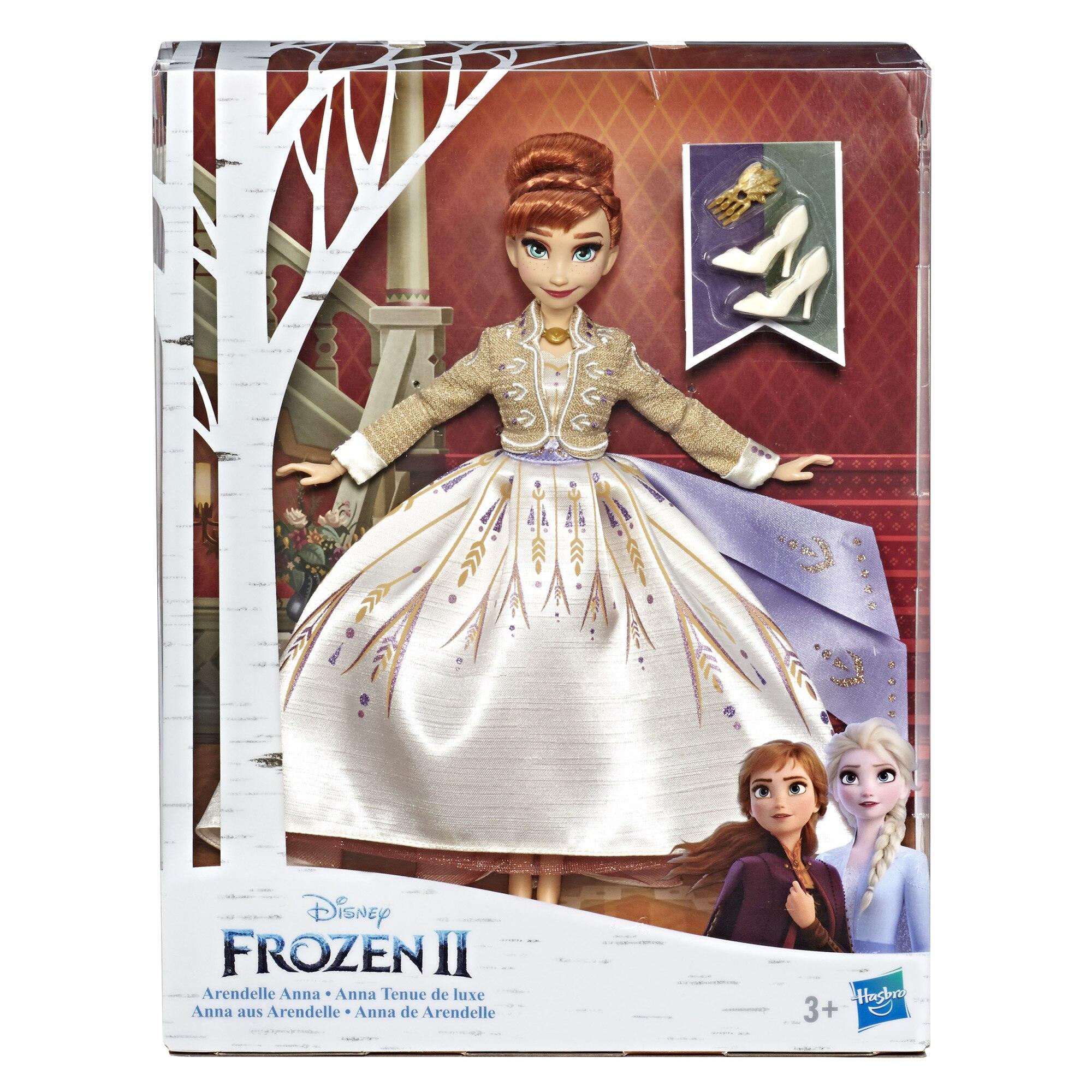 Fotografie Papusa Disney Frozen II - Arendelle Anna