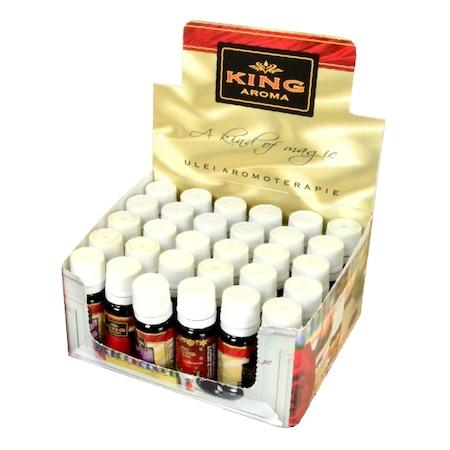 Pachet 30 buc ulei aromaterapie, Kingaroma, Floral