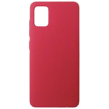 Husa tip capac spate Nillkin Super Frosted policarbonat rosu pentru Samsung Galaxy A51 (SM-A515F)