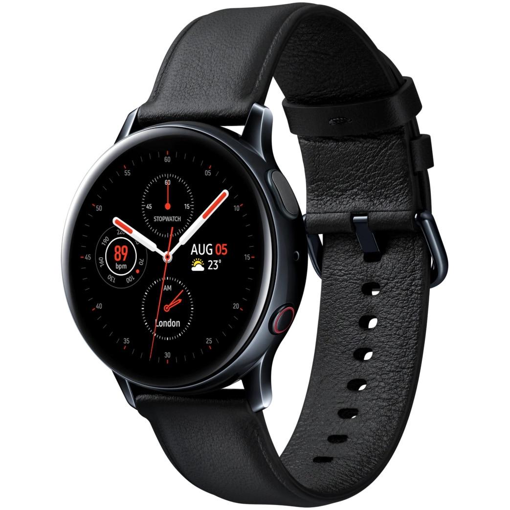 Fotografie Ceas Smartwatch Samsung Galaxy Watch Active 2, 40mm, 4G, Stainless Black