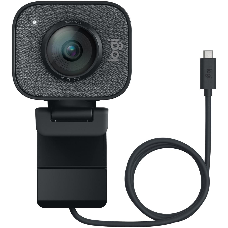 Fotografie Camera web Logitech StreamCam, USB-C, Graphite