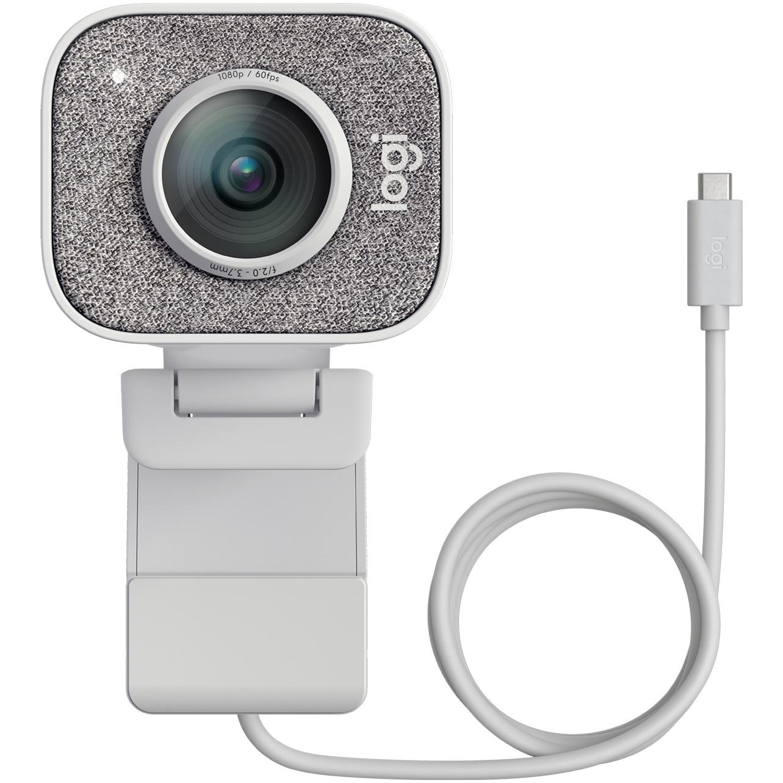 Fotografie Camera web Logitech StreamCam, USB-C, Alb