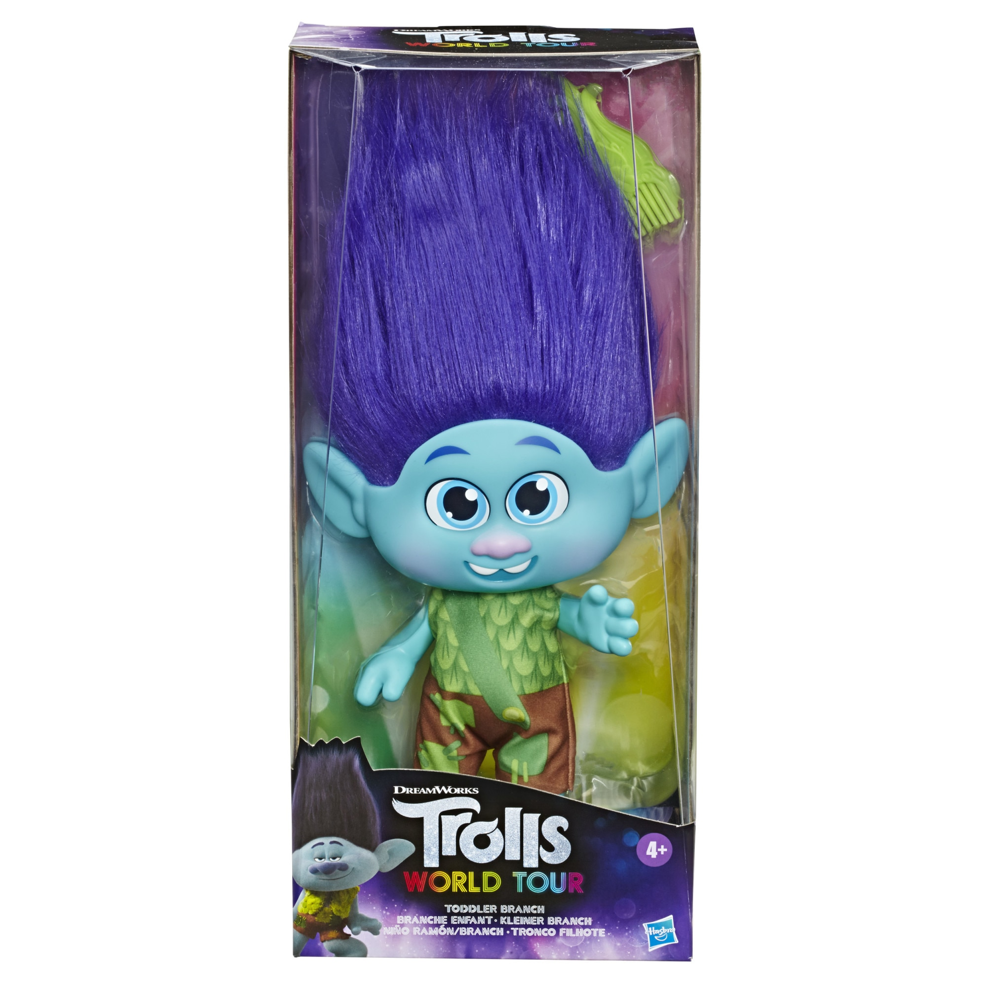 Fotografie Figurina Trolls World Tour - Toddler Branch