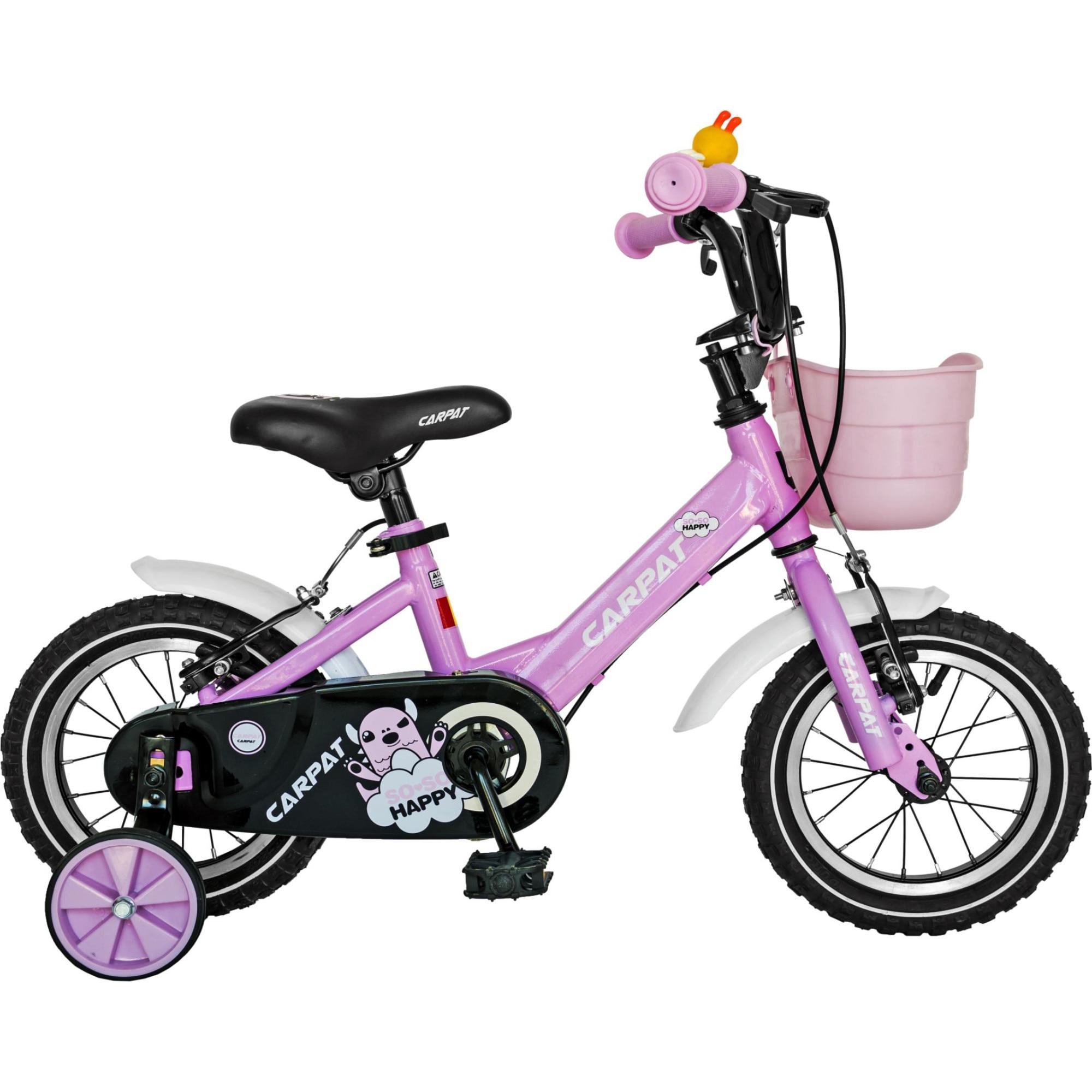 "Fotografie Bicicleta 12"" Carpat C1202C pentru copii, Roz"