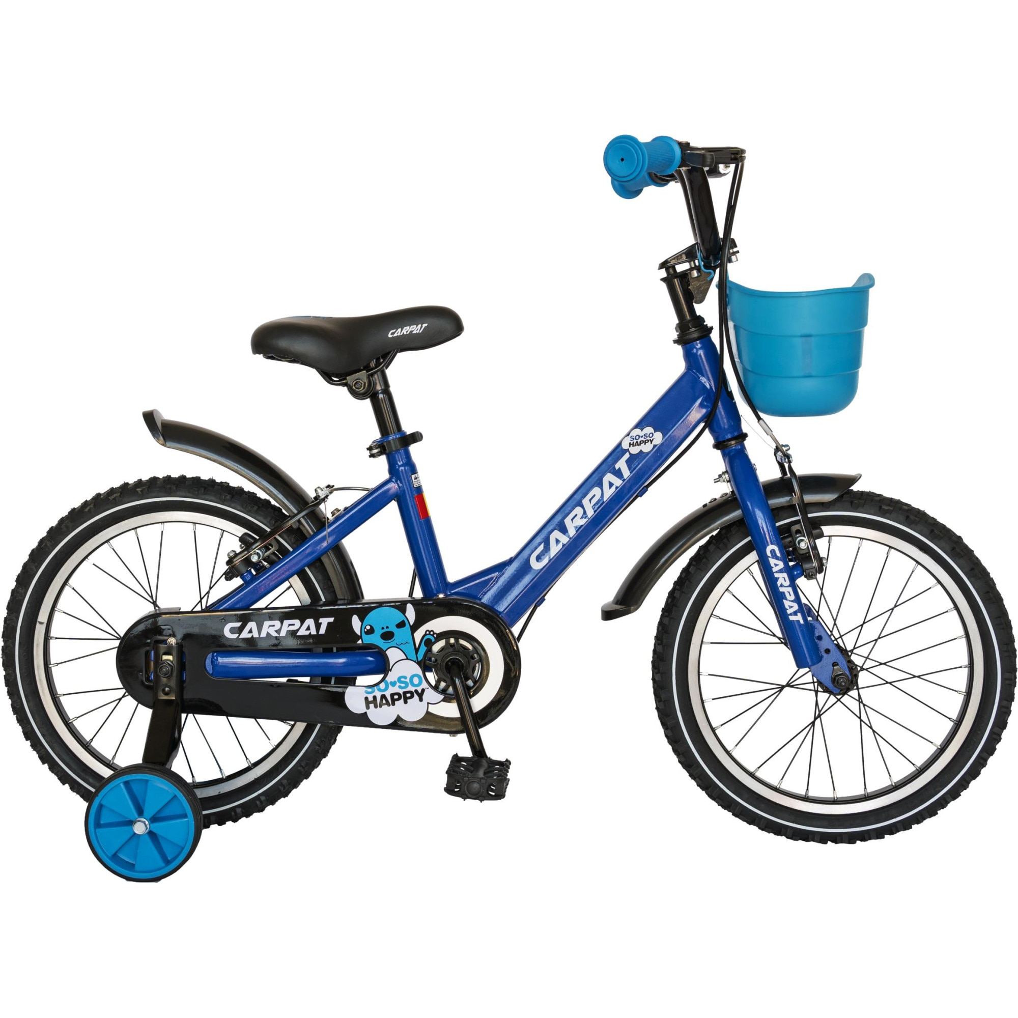 """Fotografie Bicicleta 14"""" Carpat C1401C pentru copii, Albastru"""