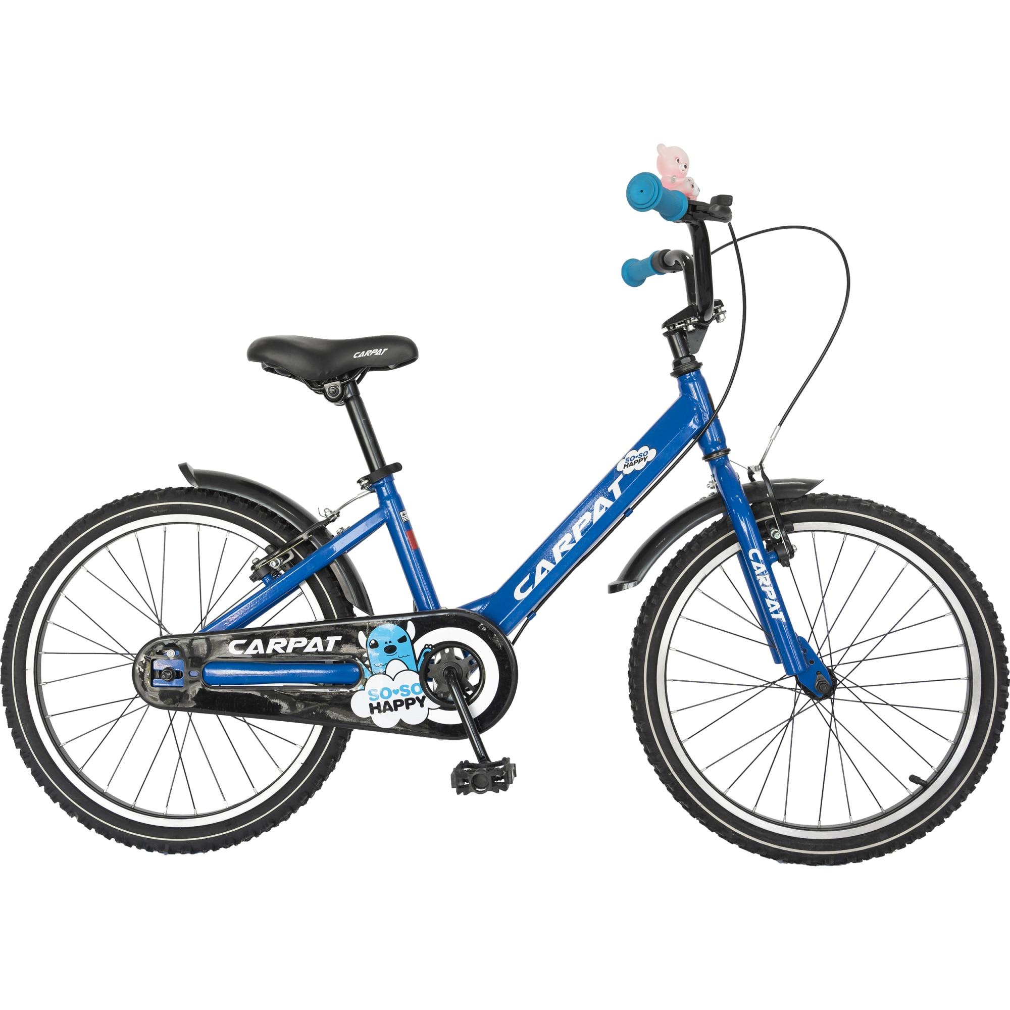 """Fotografie Bicicleta 20"""" Carpat C2001C pentru copii, Albastru"""