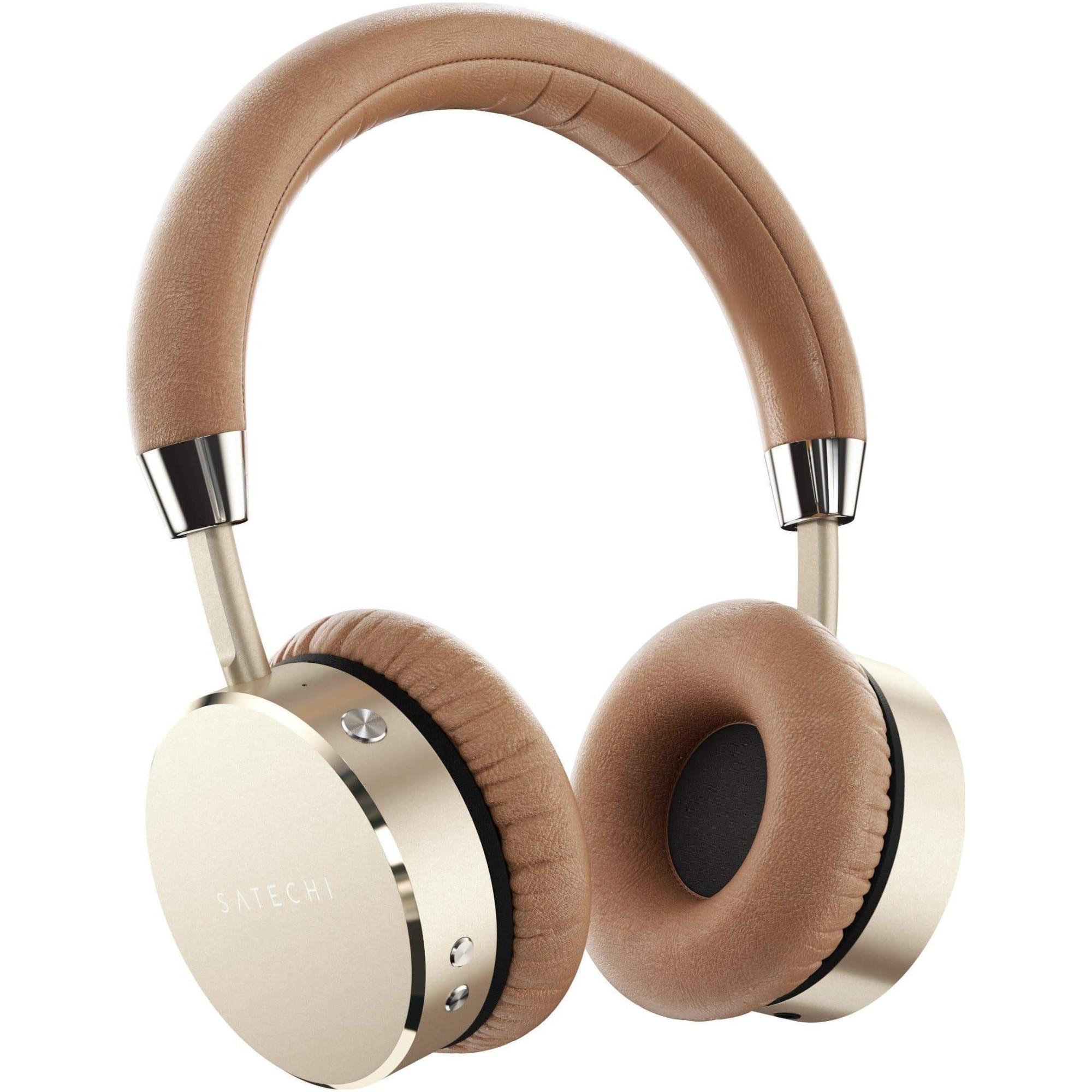 Fotografie Casti audio wireless, Satechi, aluminiu, Gold