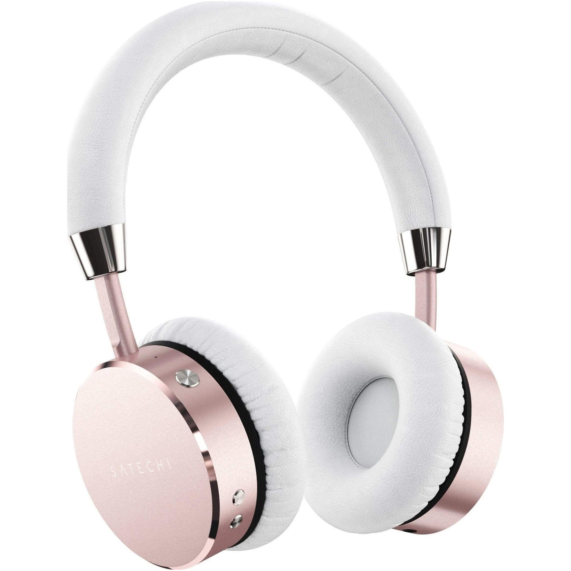 Fotografie Casti audio wireless, Satechi, aluminiu, Rose Gold
