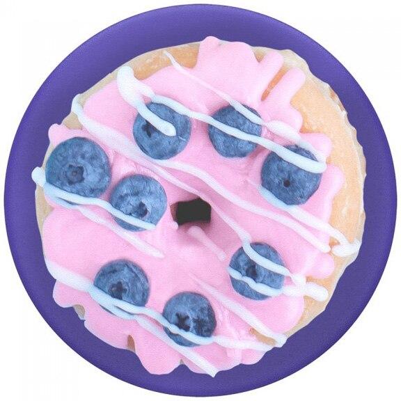 Fotografie Accesoriu Popsockets pentru dispozitive mobile, PopTop Blue Berry Donut