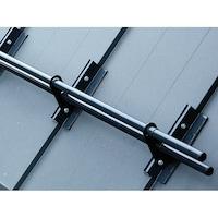 Set parazapada cilindrica pentru tabla faltuita sau click , Dogav Grup, 2 m, gri RAL 7024
