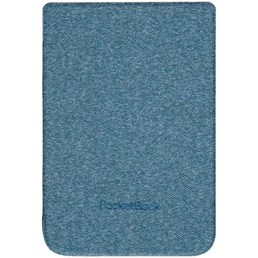 Fotografie Husa protectie PocketBook PU seria Shell, Gri-Albastrui