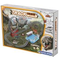 M-Toys Dino Vonat készlet, hangokkal, 59 db