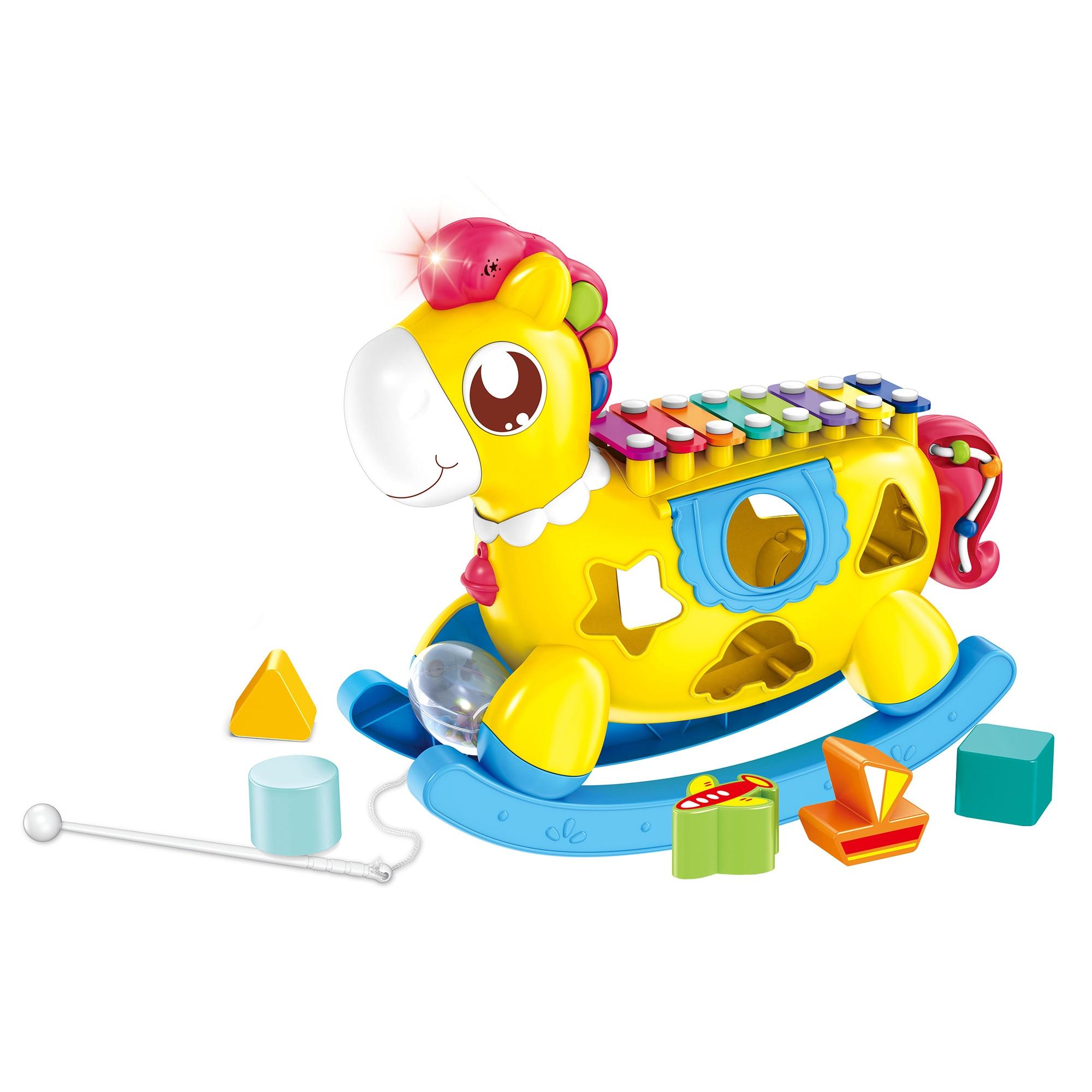 Fotografie Jucarie M-Toys Calutul cu xilofon si sortator