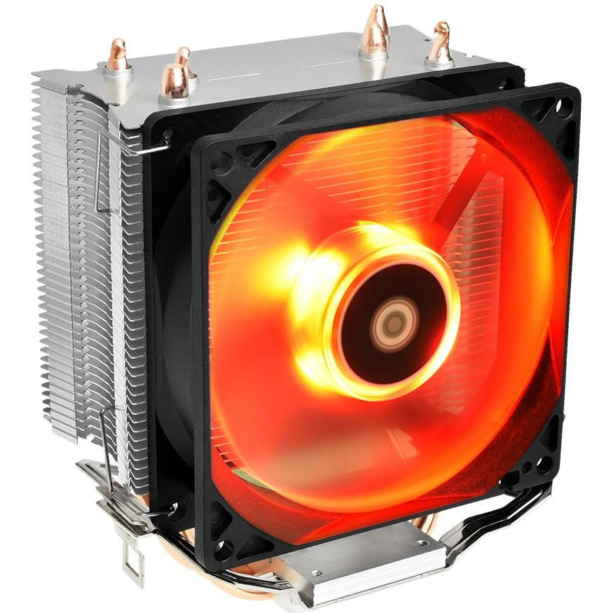 Fotografie Cooler procesor ID-Cooling SE-913-R Red, compatibil AMD/Intel