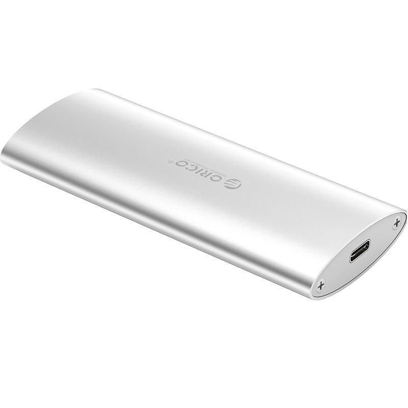 Fotografie Rack Extern Orico M2D-C3 M.2 SATA USB Type-C Silver