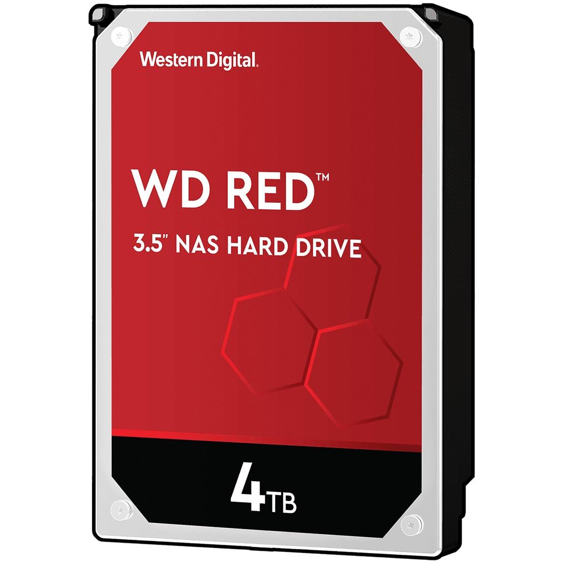 Fotografie HDD WD RED 4TB, 5400RPM, 256MB cache, SATA III