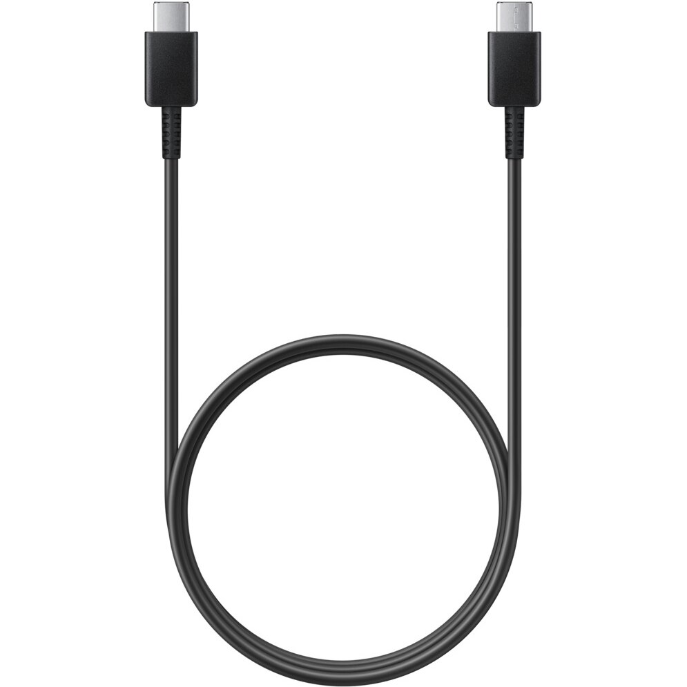 Fotografie Cablu de date Samsung, USB Type C, 3A, 1m, Black