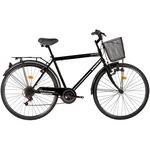 """Kreativ 2813 City 28"""" kerékpár, L, Fekete"""