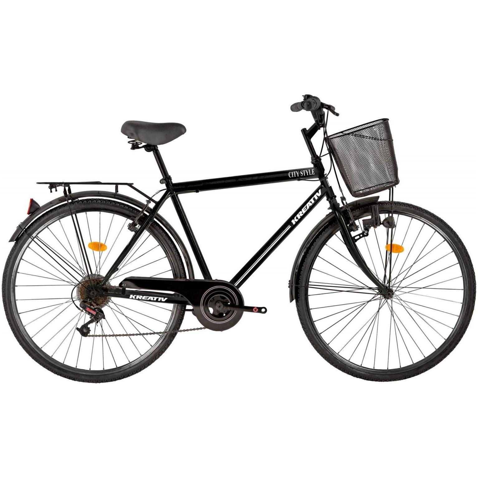 "Fotografie Bicicleta City 28"" Kreativ 2813, L, Negru"