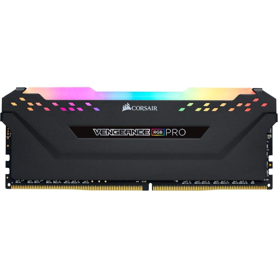 Fotografie Memorie Corsair VENGEANCE® RGB Pro, 16GB DDR4, 3200MHz CL16